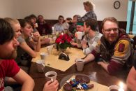 Weihnachtsfeier der Erwachsenen im Vereinsheim